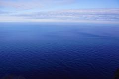 Arctic Blue (little_frank) Tags: observing arcticocean northernmosttip europe nordkapp magerøya finnmark norway nature sea azure marvel marvelous beauty beautiful wonder wonderful ocean surface waterscape panorama view fabulous spectacular horizon skyline summer light