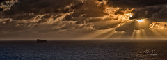 After the storm, 2019 (Ant Sacco) Tags: sea sun clouds ray filfla malta zurrieq