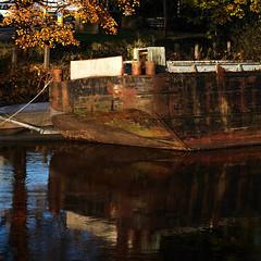 Rusting hull (Allan Rostron) Tags: boats wakefield rivercalder