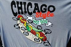 Chicago Hot Dog (Cragin Spring) Tags: city chicago chicagoillinois chicagoil illinois il urban unitedstates usa unitedstatesofamerica downtown downtownchicago loop chicagoloop hotdog bun chicagohotdog onions mustard relish viennahotdog beef poppyseed pickle tomato sportpepper