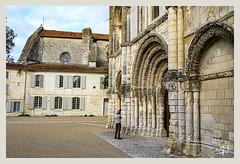 L'église de l'abbaye aux Dames / The church of the Ladies abbey - Saintes (christian_lemale) Tags: abbaye dames abbayeauxdames saintes nikon z6 ladies abbey église church