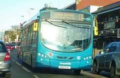 Middlesbrough (Andrew Stopford) Tags: nk10cgf vdl sb200 wright pulsar arriva middlesbrough