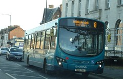 Middlesbrough (Andrew Stopford) Tags: nk10cfv vdl sb200 wright pulsar arriva middlesbrough