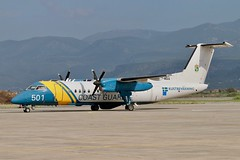 SE-MAA  DHC-8-311Q Dash 8 MSA Swedish Coast Guard (Kustbevakning) Kalamata 7.11.19 (Colin Cooke Photo) Tags: semaa dhc8311q dash 8 msa swedish coast guard kustbevakning kalamata 71119