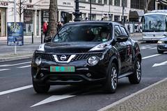 France CD (Romania) - Nissan Juke (PrincepsLS) Tags: france french diplomatic license plate 96 romania germany berlin spotting nissan juke