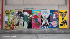 """ChalkFIT"" Mural honoring Fashion Institute of Technology's 75th anniversary with a look through the years (jag9889) Tags: 1968 1969 1970 1971 1972 1973 1974 2019 20191026 anniversary art artwork artist boxer cassiusmarcellusclayjr chelsea college fit fashion fashioninstituteoftechnology graffiti louisvilleky manhattan midtown midtownsouth muhammadali mural ny nyc newyork newyorkcity outdoor painting panel suny school seventhavenue stateuniversityofnewyork streetart tagging usa unitedstates unitedstatesofamerica year jag9889"