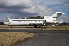 N400RG (wiltshirespotter) Tags: bournemouth hurn boeing 727