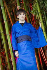 _MG_3158_1 (Mauro Petrolati) Tags: riccardo shinji ikari lucca comics games 2019 cosplay cosplayer kimono yukata version palazzo pfanner neon genesis evangelion