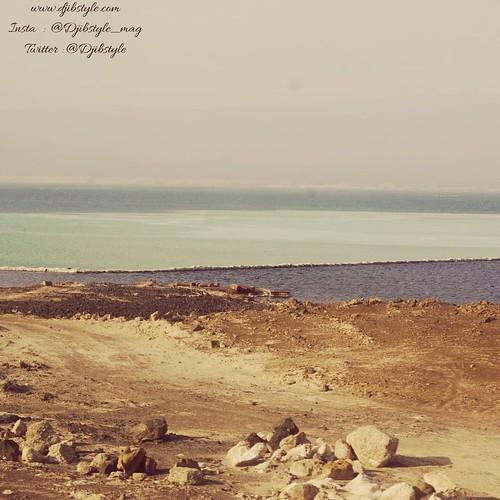 Shade Of Blue . . . #travelphotography #travel #Discovery #Tadpourah #Djibouti #Diving #Summer #Sun #SaltLake #Salt