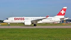 HB-JCG (AnDyMHoLdEn) Tags: swiss airbus manchester airport manchesterairport bombardier staralliance egcc 23l a220 cs300 lufthansagroup a220300