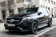 Russia (Moscow) - Mercedes-AMG GLE 63 S W166 (PrincepsLS) Tags: russia russian license plate 99 moscow germany berlin spotting mercedeamg gle 63 s w166