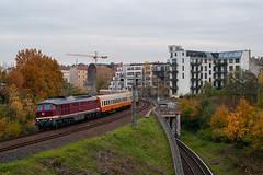 13-11-2019 - Berlin (berlinger) Tags: deutschland berlin eisenbahn railways railroad train zug sonderzug städteexpress ebs erfurterbahnservice br232 br132 ludmilla 132334