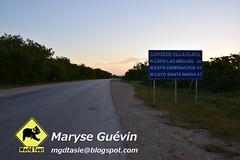 Cayo Las Brujas à Cuba (Dany et Maryse) Tags: cuba caibarien cayo lasbrujas vélo bike travel trip worldtour bicycle beach plage mer sea road