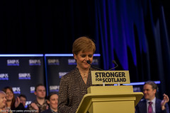 Photo of Nicola Sturgeon and Mhairi Black (99)