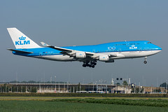 PH-BFI - KLM Royal Dutch Airlines - Boeing 747-406(M) (5B-DUS) Tags: phbfi klm royal dutch airlines boeing 747406m b744 747400 ams eham amsterdam schiphol airport airplane aircraft aviation flughafen flugzeug planespotting plane spotting