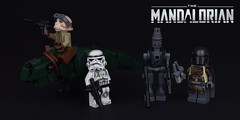 The Mandalorian - Chapter 1 (Luca s projects) Tags: the mandalorian star wars live action blurrg creature bounty hunter