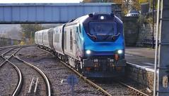 The Lord's Arrival (JohnGreyTurner) Tags: br rail uk railway train transport tpe transpennine scarborough north yorkshire diesel nova 68 class68 vossloh stadler