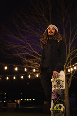 Shane (Adrian Schaap) Tags: portrait skateboarder skate skateboarding glow bokeh sony alpha a6300 sigma 30mm dreads guy man model colour sunset halifax nova scotia canada