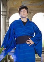 _MG_3098 (Mauro Petrolati) Tags: riccardo shinji ikari lucca comics games 2019 cosplay cosplayer kimono yukata version palazzo pfanner neon genesis evangelion