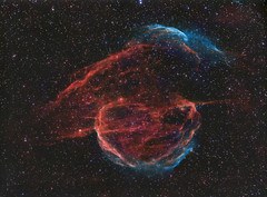 Sh2-224 in Auriga (pete_xl) Tags: sh2224 astrometrydotnet:id=nova3737426 astrometrydotnet:status=solved
