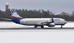 Sun Express D-ASXC, OSL ENGM Gardermoen (Inger Bjørndal Foss) Tags: dasxc sunexpress boeing 737 osl engm gardermoen