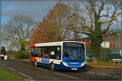 36155, London Road (Jason 87030) Tags: daventry skies lighting weather local d1 northants northampton northamptonshire marches londonroad trees autumnal season fall color colour transportation red white blue orange