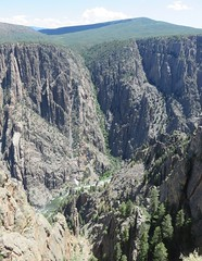 Black Canyon of the Gunnison National Park (Montrose County, Colorado) (courthouselover) Tags: colorado co landscapes montrosecounty blackcanyonofthegunnisonnationalpark blackcanyonnationalpark nationalparks nationalparksystem gunnisonriver northamerica unitedstates us rockymountains