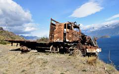DSC_0473_Kopie (fritzenalg) Tags: ausgebrannt rost rust rusty schrott autowrack unfall accident