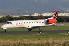 G-SAJI_02 (GH@BHD) Tags: gsaji embraer erj145 erj145ep lm log loganair belfastcityairport bhd egac regionaljet aircraft aviation airliner