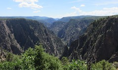 Black Canyon of the Gunnison National Park (Montrose County, Colorado) (courthouselover) Tags: colorado co landscapes montrosecounty blackcanyonofthegunnisonnationalpark blackcanyonnationalpark nationalparks nationalparksystem northamerica unitedstates us rockymountains