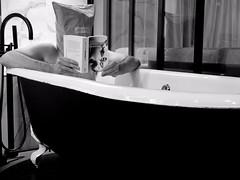 La nuit je mens VI (lizardking_cda) Tags: paris france saintlazare homme man portrait bedroom hotel bed lit bath baignoire bathroom reflet reflection bw nb autoportrait selfportrait strange étrange spooky weird bizarre alcool champagne alcohol livre book lecture read harukamurakami kafka masque mask caché hidden lie mensonge nuit nacht noche notte lumière light love amour haine hate voyage trip crime passion drink boire anonynous anonyme nude naked topless nu nipples window fenêtre fashion fine art contemporary mood melancholy mélancolie