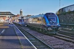 Outbound Alien (JohnGreyTurner) Tags: br rail uk railway train transport tpe transpennine scarborough north yorkshire diesel nova