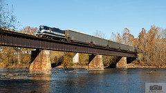 Z71012 New Canton RFP 101 Side (HeritageNY) Tags: newcanton virginia unitedstatesofamerica bb buckingham branch csx james river bridge fall rfp 101