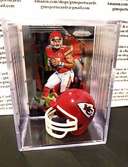 Patrick Mahomes Kansas City Chiefs Mini Helmet Card Display Collectible Case Auto Shadowbox Autograph (shop8447) Tags: auto autograph card case chiefs city collectible display helmet kansas mahomes mini patrick shadowbox