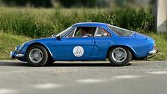 Berlinette A110 (pierre.pruvot2) Tags: alpine classiccar lumixfz5 panasonic sportautomobile voituresdecollection berlinette hautsdefrance côtedopale pasdecalais