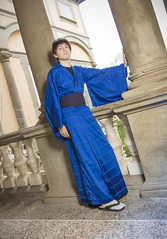 _MG_3101 (Mauro Petrolati) Tags: riccardo shinji ikari lucca comics games 2019 cosplay cosplayer kimono yukata version palazzo pfanner neon genesis evangelion