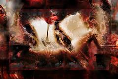 Sillas y arañas (seguicollar) Tags: art arte artedigital texturas virginiaseguí imagencreativa photomanipulation filterforge sillas arañas habitación