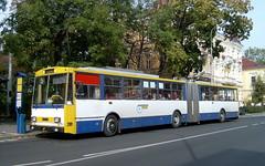 2003-10-01 Teplice Trolleybus Nr.209 (beranekp) Tags: czech teplice teplitz trolleybus trolebus trolejbus trolley obus filobus tradbus škoda arriva 15tr 209