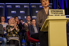 Photo of Nicola Sturgeon and Mhairi Black (97)