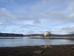 A Levitated Mass at Kielder Water (Pyrolytic Carbon) Tags: mobile kielderwater alevitatedmass rock sculpture lake shoreline