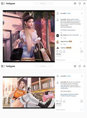 ♥secondlife - Instagram♥ (Stefani Young Hwang (steffyc)) Tags: sl secondlife blogging pretty cute thanks omg love instagram