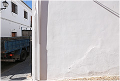 zuheros 7 (beauty of all things) Tags: espana spanien andalusien weis white urban zuheros lkw trucks