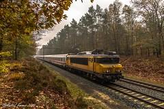 NS 1745, Buurlo (cellique) Tags: nsinternational ns 1745 buurlo herfst goldenoktober spoorwegen treinen eisenbahn zuge railway train veluwe