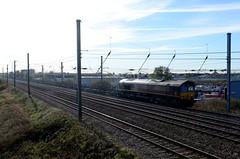 66169 aa Sandy 021118 D Wetherall (MrDeltic15) Tags: eastcoastmainline dbcargo class66 66169 sandy ecml