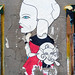 Pasted paper by Fred Le Chevalier [Paris 17e]