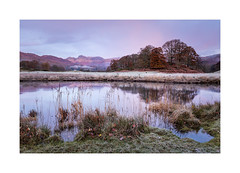 River Brathay (Ade G) Tags: landscape nature bluehour grasses mountains plants reeds river sunrise sunset trees water