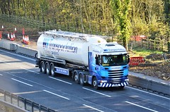 WS Transportation PO18 NUA (stavioni) Tags: ws transportation po18nua scania r450 tanker truck trailer lorry