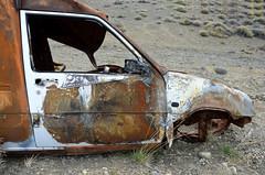 DSC_0605_Kopie (fritzenalg) Tags: ausgebrannt rost rust rusty ruta 40 schrott autowrack unfall accident