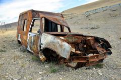 DSC_0604_Kopie (fritzenalg) Tags: ausgebrannt rost rust rusty ruta 40 schrott autowrack unfall accident