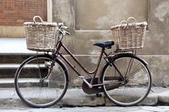 Firenze bicycle (Read2me) Tags: florence italy pree tcfe bike bicycle wheels basket two wall ge challengeyouwinner winner